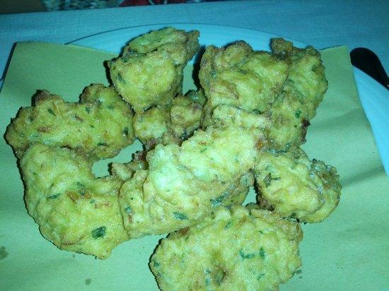Ristorante a Scibretta: frittelle di stoccafisso