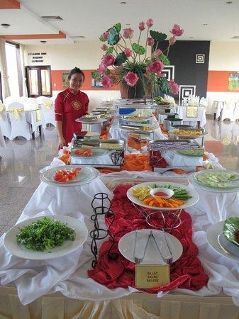 Thanh Lich Hotel: buffet pdj