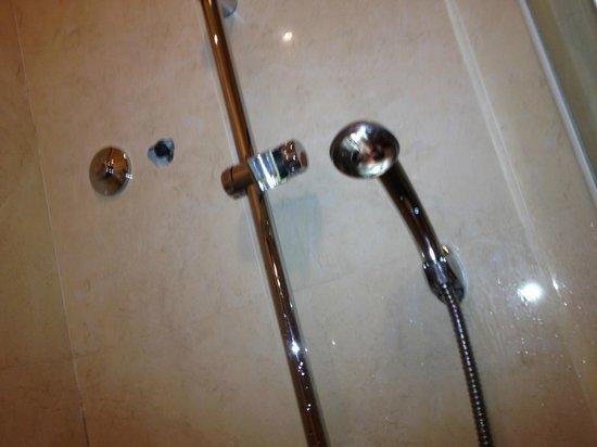 Hotel Belle Epoque: dans la douche, pomme HS et trous
