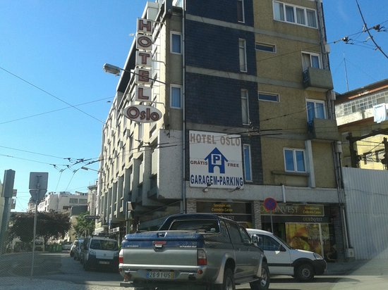 Hotel Oslo Coimbra : Parking gratuito???????