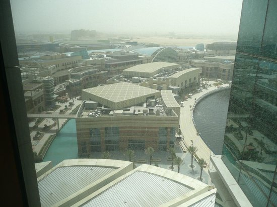 InterContinental Dubai Festival City: View of Festival City Mall.