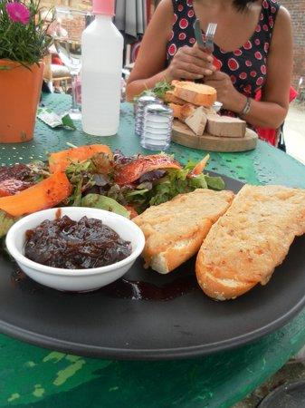 The Barn Cafe: French rarebit