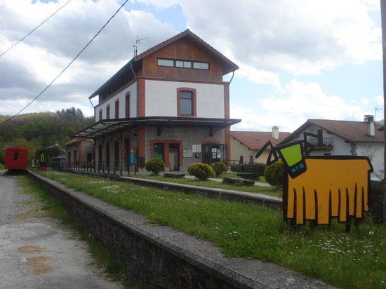Lecumberri, Spania: Estación del Plazaola en Lekunberri