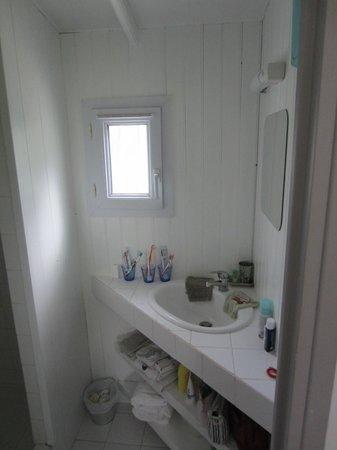 Le Bois Saint Martin : bathroom