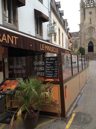 Le Minuscule Restaurant : bar restaurant pizzeria le minuscule