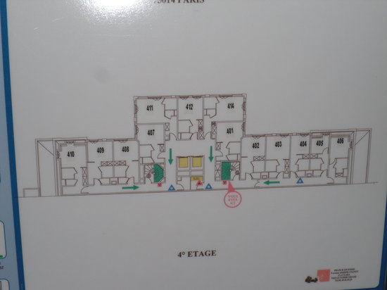 Hotel Villa Modigliani: Floor plan photo