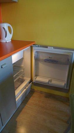 Braavo Spa Hotel: холодильник