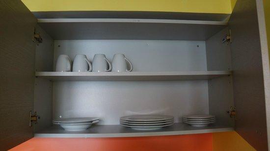 Braavo Spa Hotel: посуда в номере
