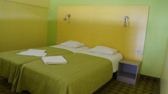 Hotel Braavo: второй этаж. спальня