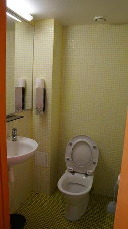 Hotel Braavo: туалет