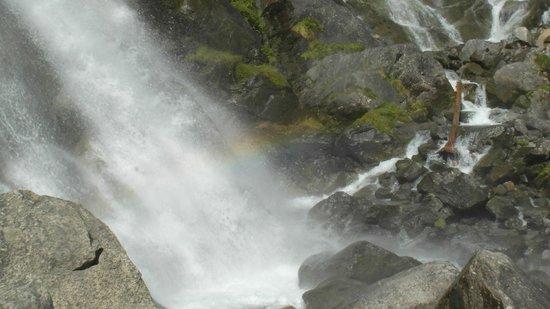 Cascate Nardis: Cascata arcobaleno