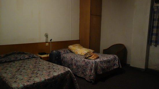 Hotel Central: Nice room *sarcasm*