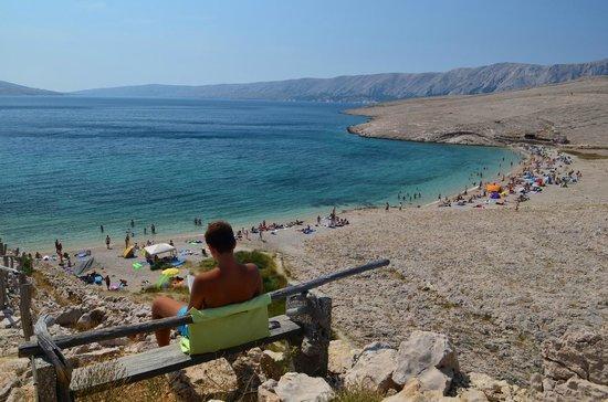 Novalja, Croatia: view