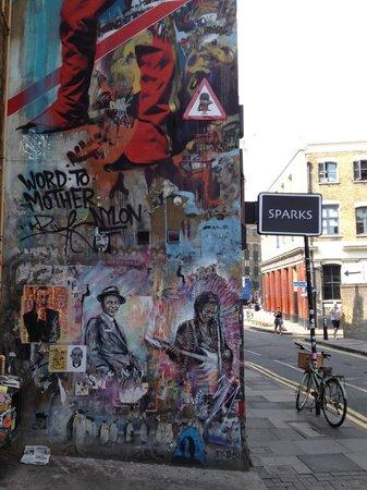 Brick Lane: Hanbury Street