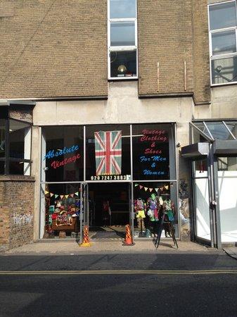 Brick Lane: Vintage Hanbury Street