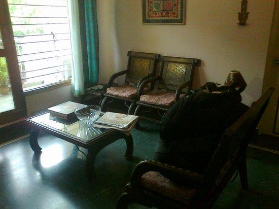 Chhoti Haveli: Il salottino di casa