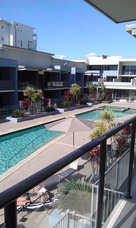 Ramada Hervey Bay: From our balcony...