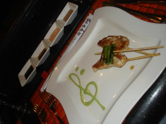 Mikado: Beautifully presented food