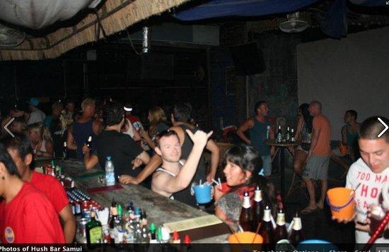 Hush Bar Samui: party on