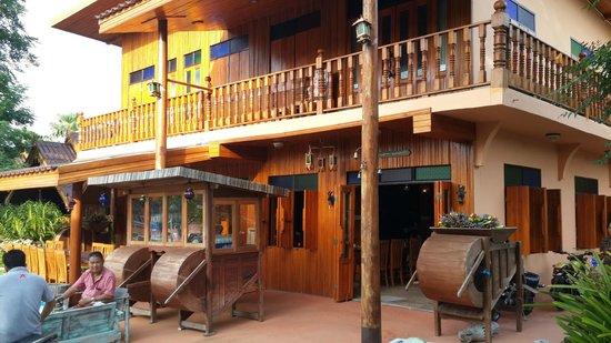 Srisawat Resort : Breakfast room
