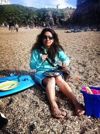 Barricane Beach Cafe: Delicious!!!