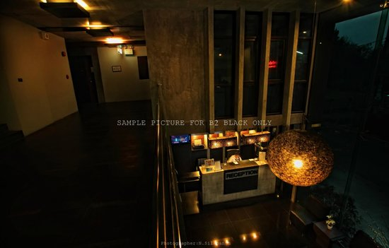 B2 Black Hotel: Lobby