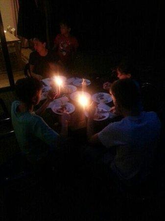 Center Parcs Bispinger Heide: Abendessen auf der Terrasse, Versorgung aus dem Supermarkt in Bispingen