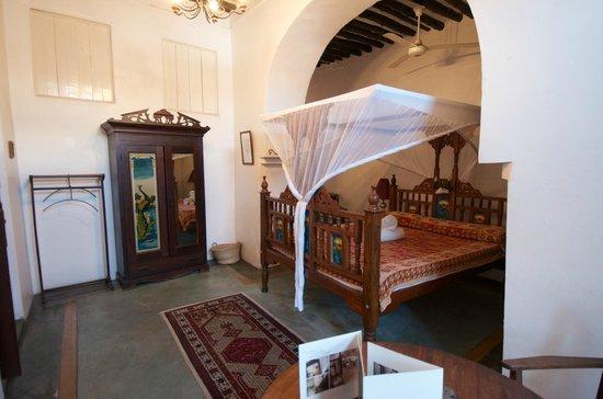 Zanzibar Coffee House: traditionelles Zimmer