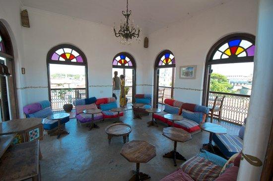 Zanzibar Coffee House: die Dachterrasse