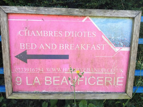 9 La Beauficerie bed and breakfast : Come on in