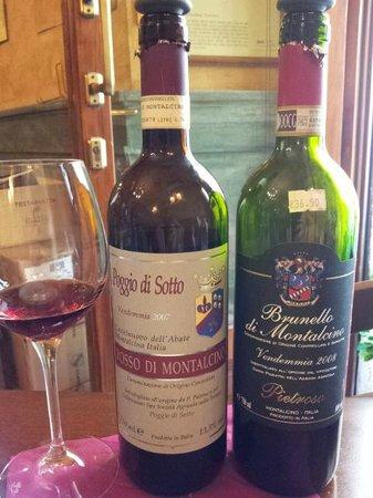 Enoteca Scali: i Vini