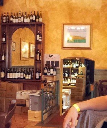 Enoteca Scali: Saletta interna