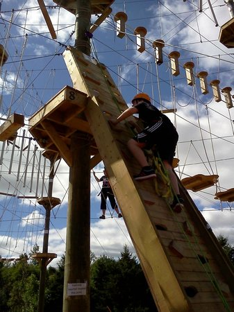 "Rise and Climb Adventure Course: Orange ""Birthday"" Helmet"