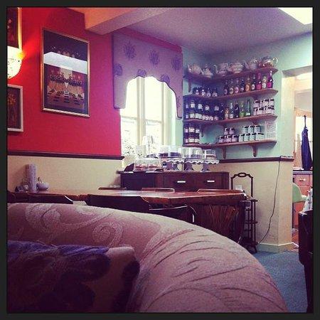 Apple Tree Tea Rooms: Comfy chairs