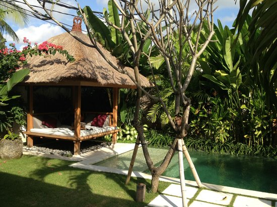 Villa Bali Asri Batubelig : Pool and gazebo