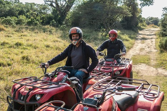 Inkwenkwezi Private Game Reserve Safari Lodge : Quad Bike Safari