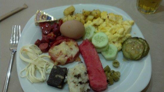 Hotel Antea: buffet breakfast