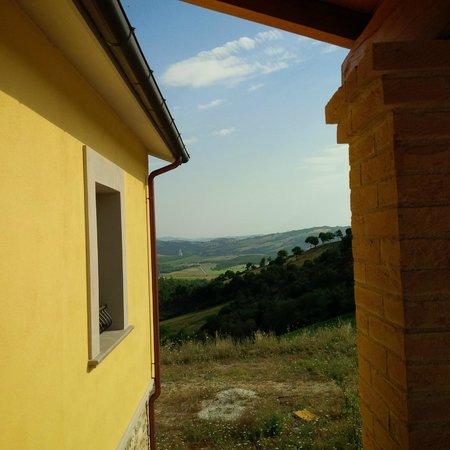 Agriturismo il Moro: vista da ingresso