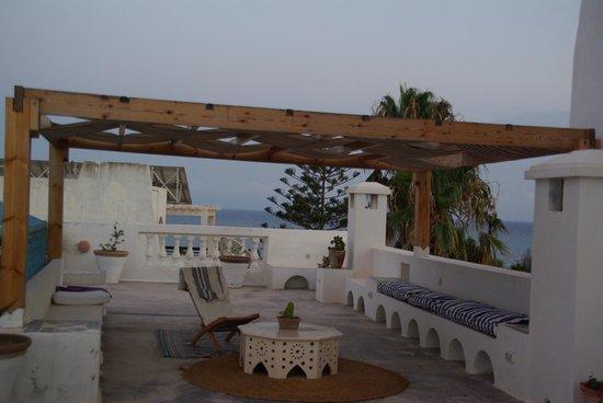 La terrazza di Villa Phoenicia