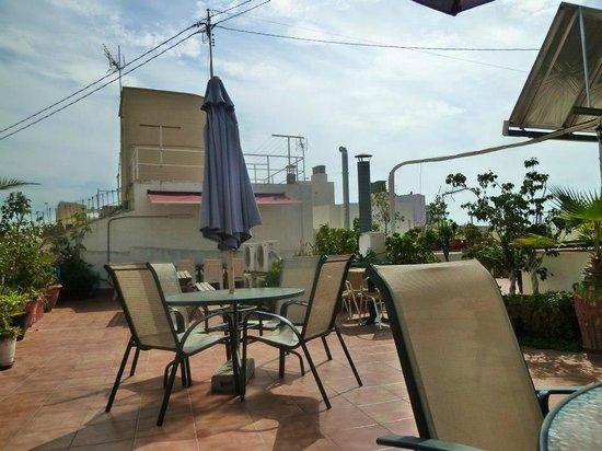 La Milagrosa Bed & Breakfast : Terrace