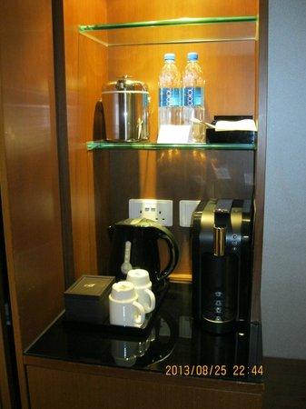 The Bauhinia Hotel - Central: Nespresso Machine!!!
