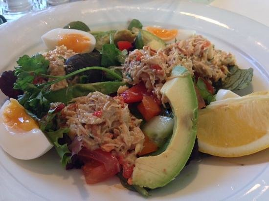 Taste Cafe at Chesil Beach: crab special