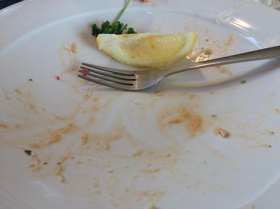 Taste Cafe at Chesil Beach: a good sign!