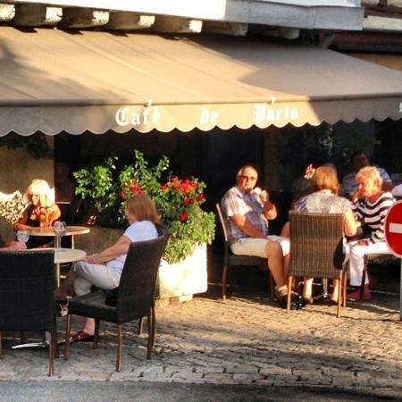 Eymet, Γαλλία: en terrasse