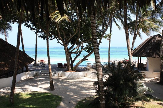Kusini Beach Cottages: View from Pepo cottage