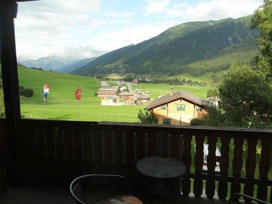 Hotel Restaurant Walliser Sonne: View from balcony