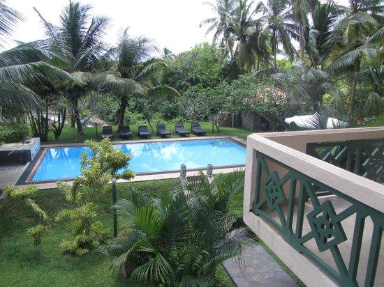 Shangri-Lanka Villa: the pool's view