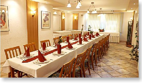 Hotel-Restaurant Herbers: Clubraum bis 20 pers.