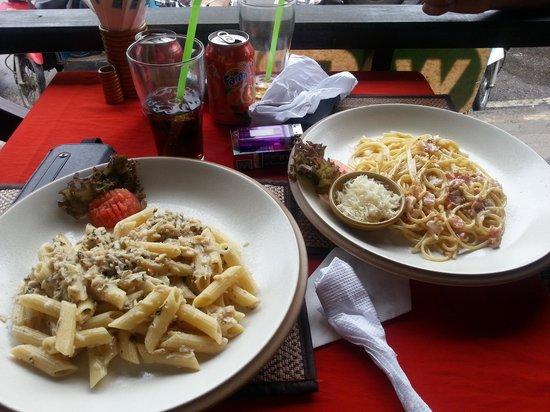 La Luna Italiano - Italian Bar and Restaurant: pasta!