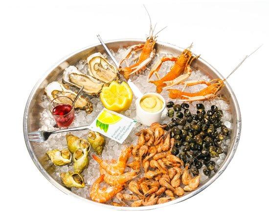 La Villa : Un délicieux plateaux de fruits de mer !